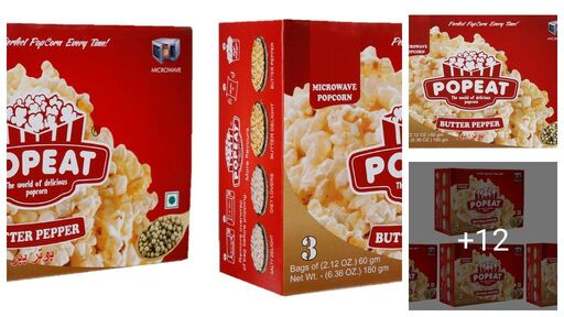 Pop Eat Microwave Popcorn
