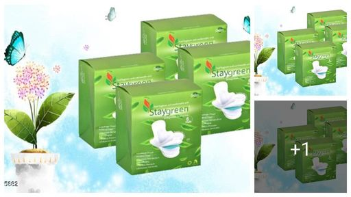 Staygreen Biodegradable Sanitary Pads