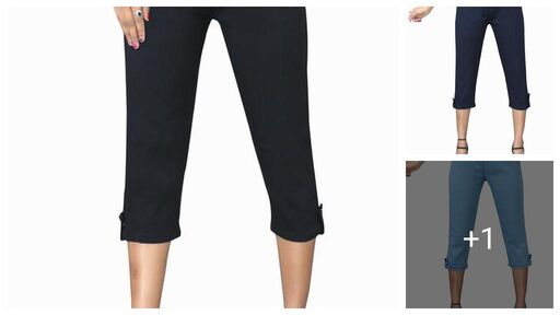 Stylish Sensational Women Capris