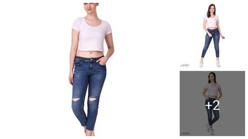 Trendy Denim Women's Jeans