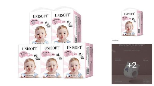 Unisoft Soft & Super Dry Diapers