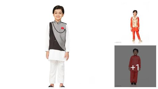 Cute Stylus Kids Boys Kurta Sets