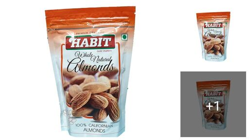 Habit Almonds Dry Fruit