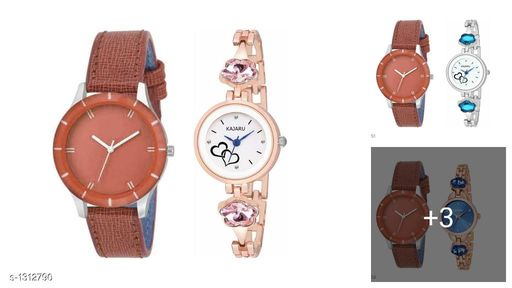 Stylish Women's Analog  Watches (Pack Of 2)