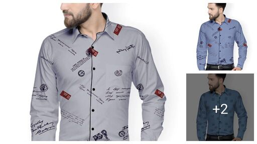 Comfy Partywear Men Shirt Fabric