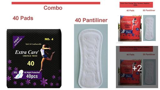 Extra Care 320 MM Maxi XXXL 40 Pads Sanitary Pad