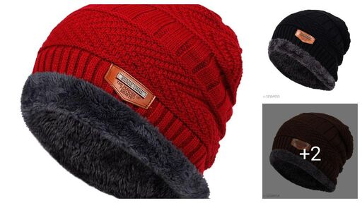 Attractive Wool Winter Caps