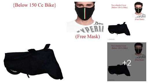 Bike Cover Combo With Free Mask For Passion