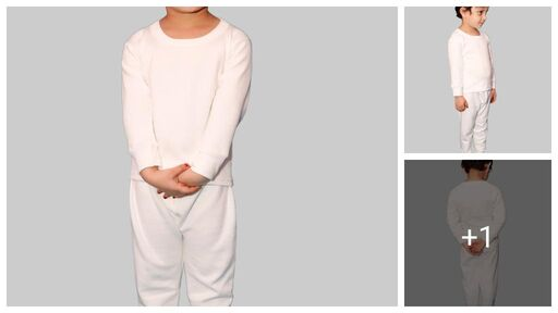 Modern Attractive Kids Girls Thermals