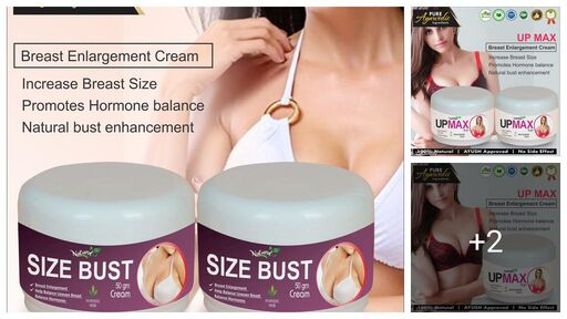 Size Bust Herbal Cream For Helps To Shape Your Breast 100% Ayurvedic