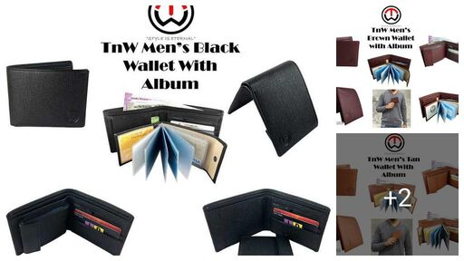 Stylish Artificial Leather Men's Wallets