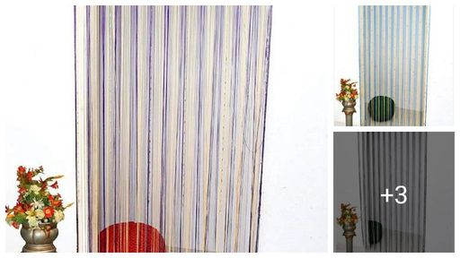Versatile Polyester Door Curtains