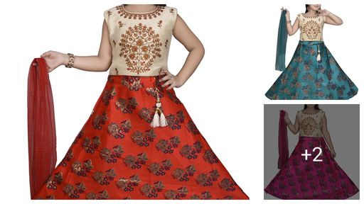 Ethnic Net Kid's Girl's Choli Sets