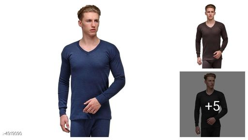 Alfa Lava High Neck Men's Top Thermal Innerwear