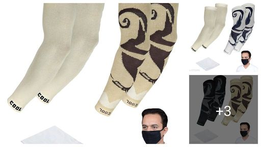 Trendy Attractive Unisex Gloves & Face Mask Combo