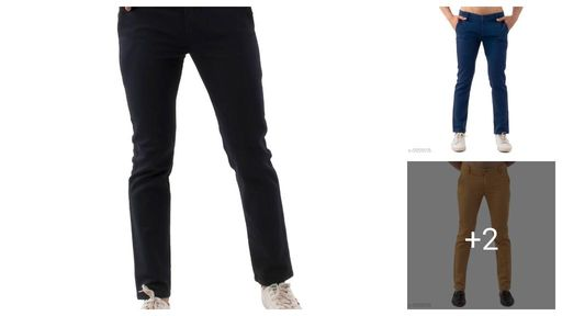 Feminine Cotton Men Trousers