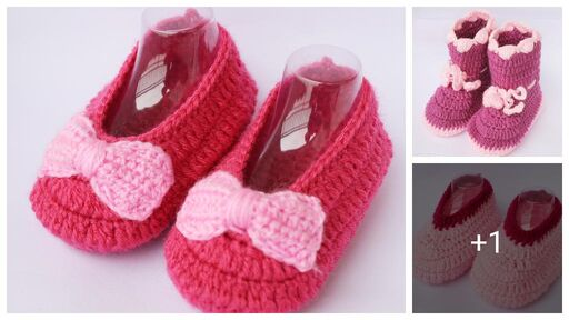 Stylish Kid's Woolen Booties
