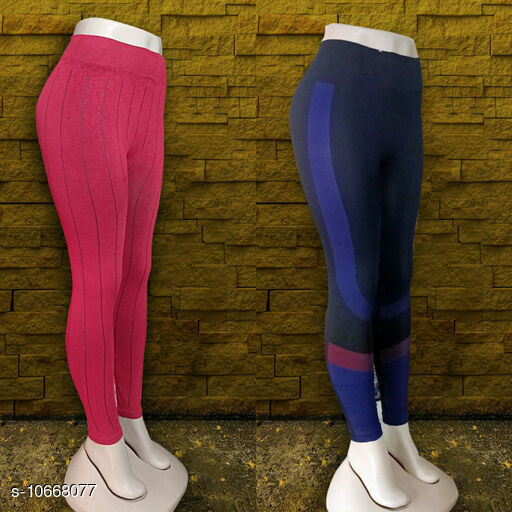 Sportswear Bottoms Sports Legging Combo Multipack: 2 Sizes:  34 Country of Origin: India Sizes Available: Free Size, 34 *Proof of Safe Delivery! Click to know on Safety Standards of Delivery Partners- https://ltl.sh/y_nZrAV3   Catalog Name: Elegant Women Sports & Activewear Bottoms CatalogID_1957887 C78-SC1059 Code: 154-10668077-