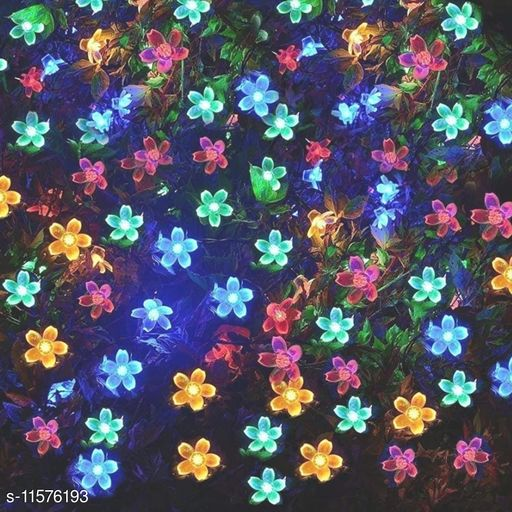 Electronic Lightings Crystal Flower Lights   *Pack* Pack of 1  *Sizes Available* Free Size *    Catalog Name: Designer Electronic Lightings CatalogID_2180906 C128-SC1314 Code: 462-11576193-
