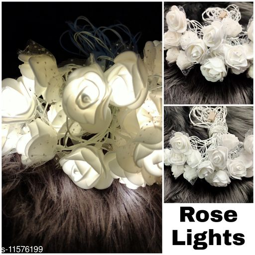 Electronic Lightings Rose Lights  *Pack* Pack of 1  *Sizes Available* Free Size *    Catalog Name: Designer Electronic Lightings CatalogID_2180906 C128-SC1314 Code: 442-11576199-