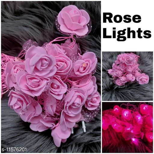 Electronic Lightings Rose Lights  *Pack* Pack of 1  *Sizes Available* Free Size *    Catalog Name: Designer Electronic Lightings CatalogID_2180906 C128-SC1314 Code: 442-11576201-