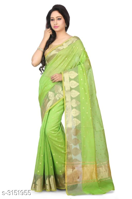 Sarees Elegant Chanderi Silk Women's Saree  *Fabric* Saree - Chanderi Silk , Blouse - Chanderi Silk  *Size* Saree Length With Running Blouse - 6.30 Mtr  *Work* Zari Woven  *Sizes Available* Free Size *    Catalog Name: Abirami Zari Woven Chanderi Chanderi Silk Sarees CatalogID_408120 C74-SC1004 Code: 9741-3151955-