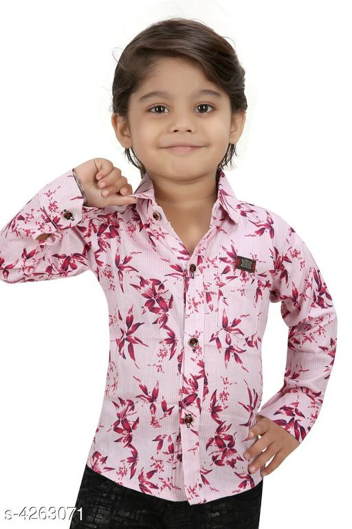 Tshirts & Polos  Alluring Cotton Kid's Boy's Shirt Fabric: Cotton Sleeves: Sleeves Are Included Size:   Age Group (1 - 2 Years) - 18 in Age Group (2 - 3 Years) - 20 in Age Group (3 - 4 Years) - 22 in Age Group (4 - 5 Years) - 24 in Age Group (5 - 6 Years) - 26 in Age Group (6 - 7 Years) - 28 in Age Group (7 - 8 Years) - 30 in Type: Stitched Description: It Has 1 Piece Of Kid's Boy's Shirt  Work: Printed Country of Origin: India Sizes Available: 2-3 Years, 3-4 Years, 4-5 Years, 5-6 Years, 6-7 Years, 7-8 Years, 6-12 Months, 1-2 Years *Proof of Safe Delivery! Click to know on Safety Standards of Delivery Partners- https://ltl.sh/y_nZrAV3  Catalog Rating: ★3.6 (17)  Catalog Name: Fable Alluring Cotton Kid'S Boy'S Shirts Vol 3 CatalogID_610380 C59-SC1173 Code: 803-4263071-