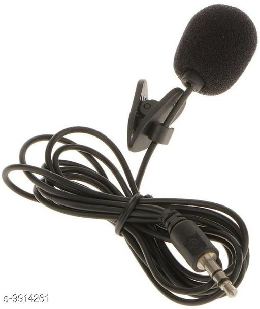 Microphone Giffy® LABEL Professional Lapel Clip-on, 1.2 Meter in Length, 3.5mm Audio Jack, Omnidirectional Condenser Lavalier Microphone Collar Mic for Mobile, Smartphones, PC, Recording Youtube, Interview, Video Conference, Podcast Product Name: Giffy? LABEL Professional Lapel Clip-on 1.2 Meter in Length 3.5mm Audio Jack Omnidirectional Condenser Lavalier Microphone Collar Mic for Mobile Smartphones PC Recording Youtube Interview Video Conference Podcast Brand Name: Giffy? Color: Black Audio Jack Type: 3.5 mm Cable Length: 120 cm Compatibility: Other Audio Devices Connectivity: Wired Mic: Yes Multipack: 1 Water Resistant: No Country of Origin: India Sizes Available: Free Size   Catalog Rating: ★4 (26)  Catalog Name: Giffy庐 Microphone CatalogID_1765979 C98-SC1504 Code: 862-9914261-