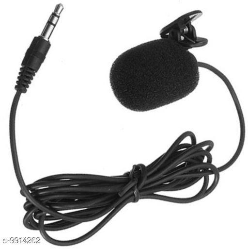 Microphone Giffy® 3.5mm Jack, 1.2 Meter in Length, Clip Microphone For Youtube | Collar Mike for Voice Recording | Lapel Mic Mobile, PC, Laptop, Android Smartphones, DSLR Camera Microphone Product Name: Giffy? 3.5mm Jack 1.2 Meter in Length Clip Microphone For Youtube | Collar Mike for Voice Recording | Lapel Mic Mobile PC Laptop Android Smartphones DSLR Camera Microphone Brand Name: Giffy? Color: Black Audio Jack Type: 3.5 mm Cable Length: 120 cm Compatibility: Other Audio Devices Connectivity: Wired Mic: Yes Multipack: 1 Water Resistant: No Country of Origin: India Sizes Available: Free Size   Catalog Rating: ★4 (26)  Catalog Name: Giffy庐 Microphone CatalogID_1765979 C98-SC1504 Code: 862-9914262-
